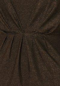 YAS - YASYEN V NECK MIDI DRESS - Cocktail dress / Party dress - black - 2