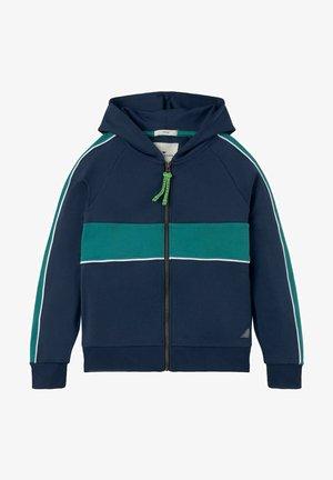 OPTIK - Zip-up sweatshirt - dress blue blue