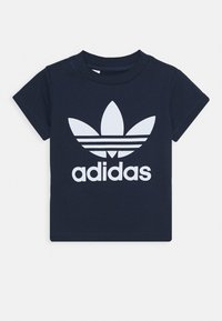 adidas Originals - TREFOIL UNISEX - Camiseta estampada - conavy/white - 0