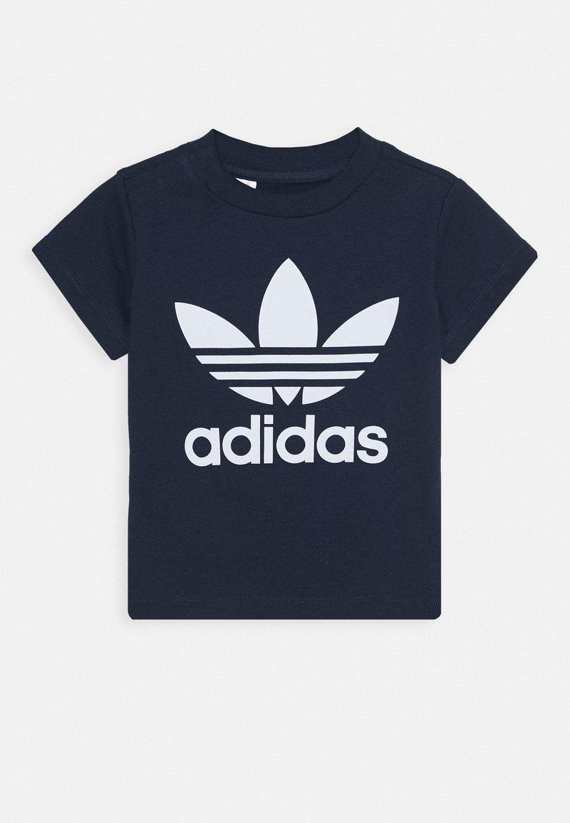 adidas Originals - TREFOIL UNISEX - Camiseta estampada - conavy/white