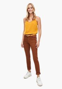s.Oliver - Slim fit jeans - brown - 1