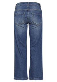 Dranella - DRLULU 1 TRACY JEANS - PATCHED JEANS - Slim fit jeans - mid blue denim - 7