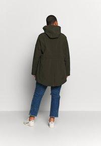 Lauren Ralph Lauren Woman - SYNTHETIC COAT - Parkatakki - light olive - 2