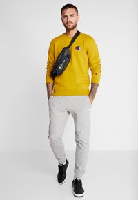 Champion - CREWNECK - Sweatshirt - dark yellow - 1