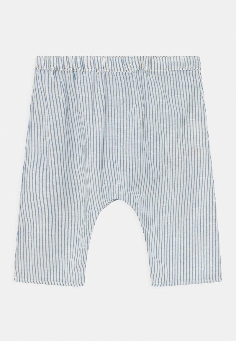 ARKET - UNISEX - Trousers - white/blue