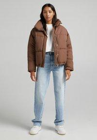 Bershka - Light jacket - brown - 1
