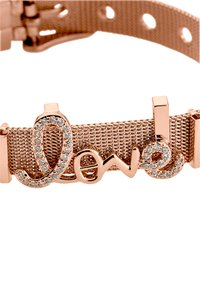 Heideman - ARMBAND LOVE - Bracelet - rose goldfarbend - 3