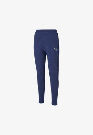EVOSTRIPE  - Tracksuit bottoms - elektro blue