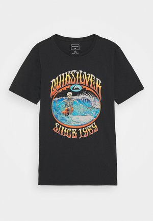 LOST ALIBI YOUTH - Print T-shirt - black