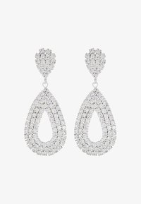 sweet deluxe - DROP EARRINGS - Orecchini - silber/crystal - 3