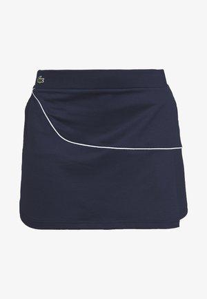 CLASSIC SKIRT - Spódnica sportowa - navy blue/white