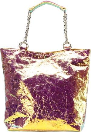SHOPPER - Shopping bag - multicolored holo