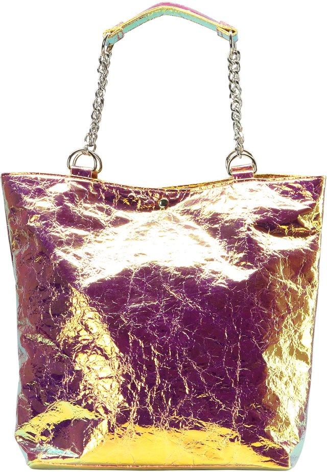SHOPPER - Tote bag - multicolored holo