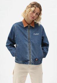Dickies - HALMA  - Denim jacket - classic blue - 0