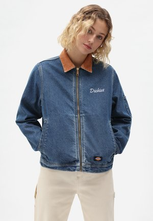 HALMA  - Denim jacket - classic blue