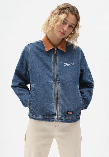HALMA  - Denim jacket - classic blue