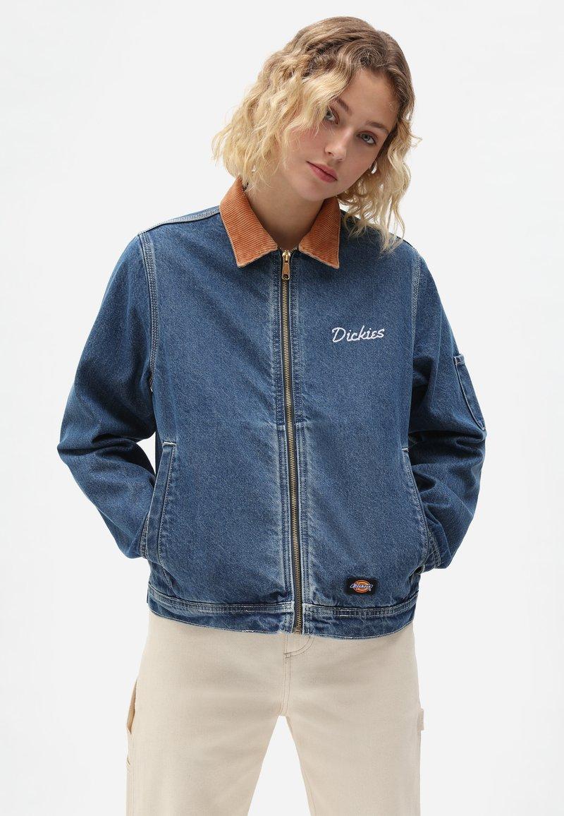 Dickies - HALMA  - Denim jacket - classic blue