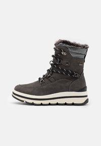 TOM TAILOR - Winter boots - coal - 1