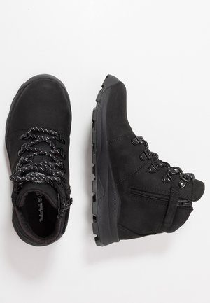 BROOKLYN HIKER - Bottines à lacets - black