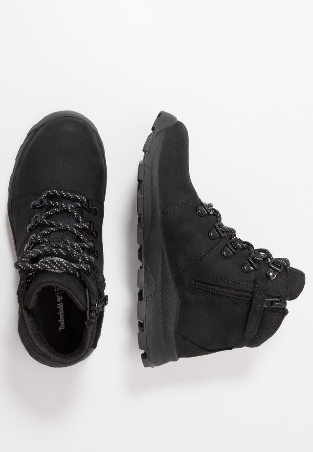 BROOKLYN HIKER - Lace-up ankle boots - black
