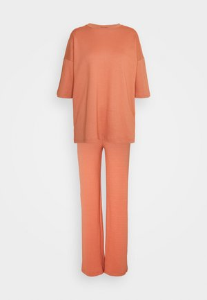 SET - Trousers - rust