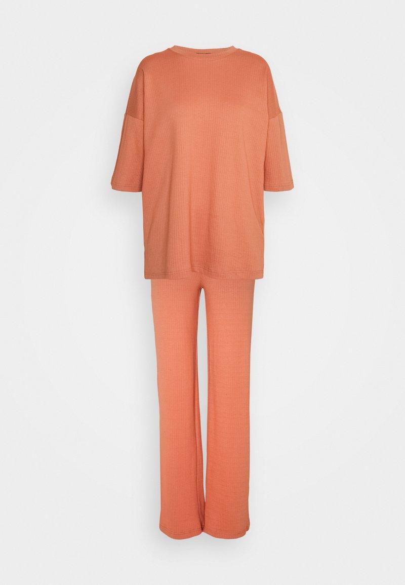 Missguided Tall - SET - Kalhoty - rust