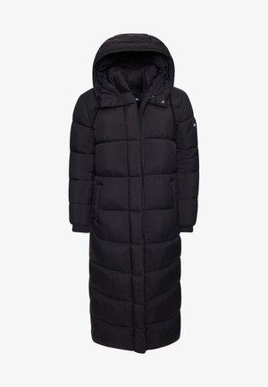 TOUCHLINE LONGLINE PADDED - Winter coat - black grid