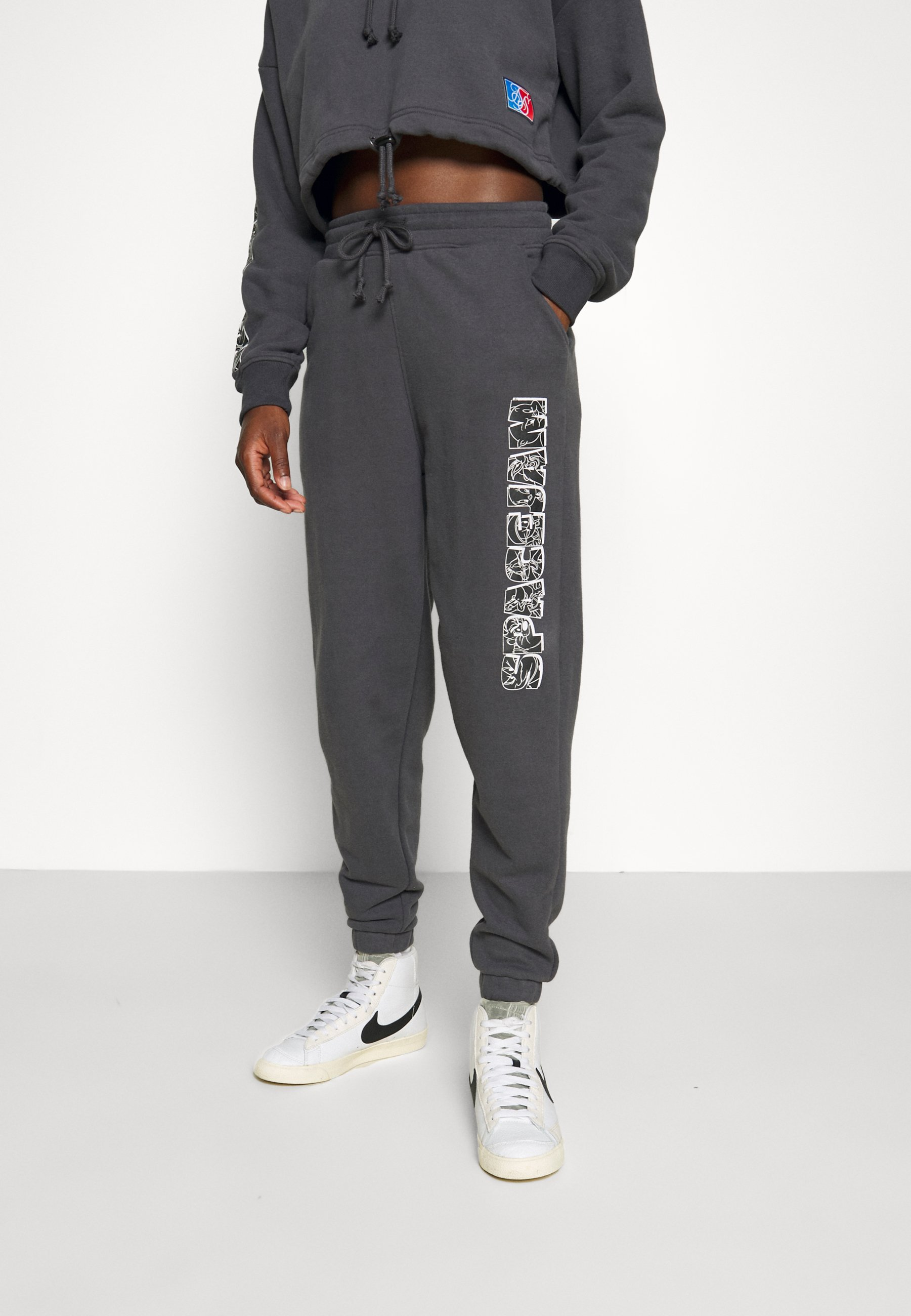 Women SPACE JAM SIKSILK PEACHED  - Tracksuit bottoms