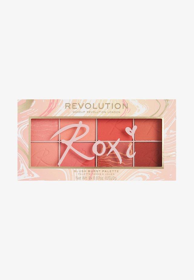 REVOLUTION X ROXXSAURUS BLUSH BURST PALETTE - Sminkpalett - multi