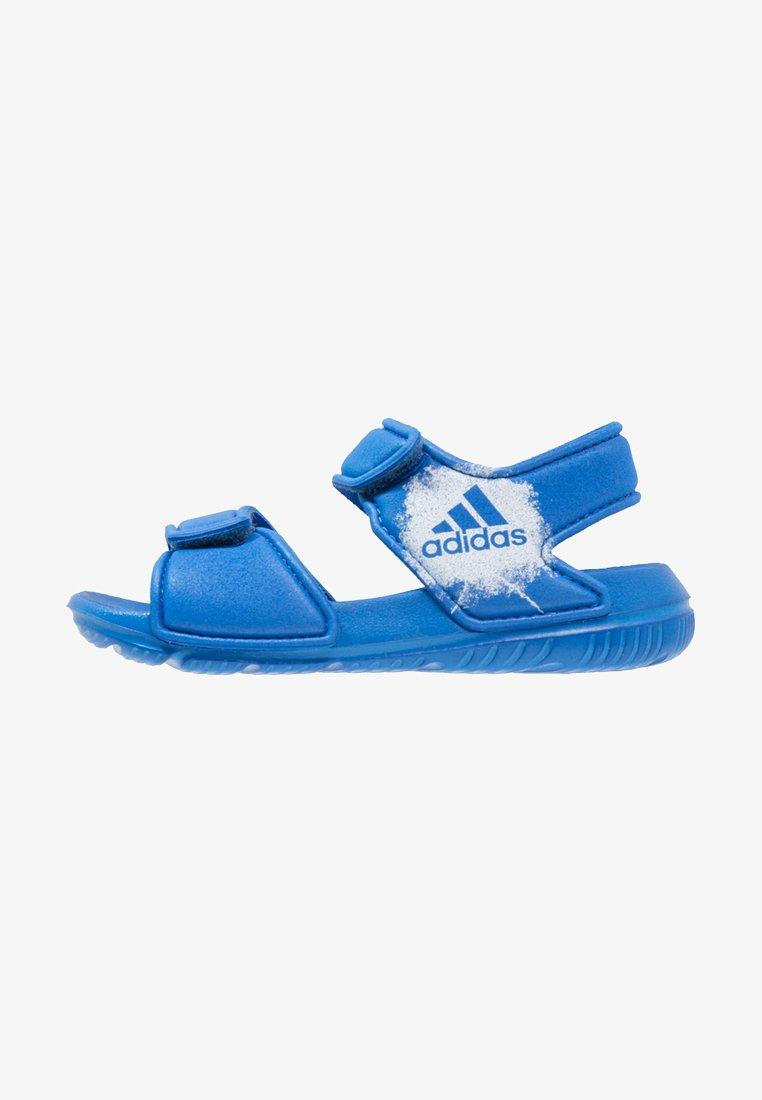 adidas Performance - ALTASWIM - Badesandaler - blue/white