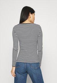 Zign - Long sleeved top - black/white - 2