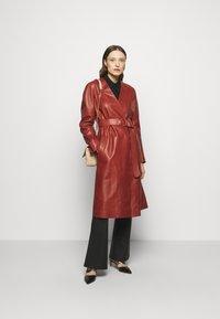 Bally - LUX COAT - Classic coat - spice - 1