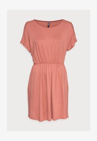 Pieces Petite - PCPETRINE DRESS - Jersey dress - canyon rose - 4