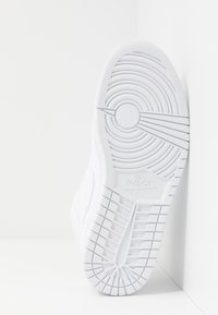 Jordan - AIR 1 MID - Sneakersy wysokie - white/university red/midnight navy - 4
