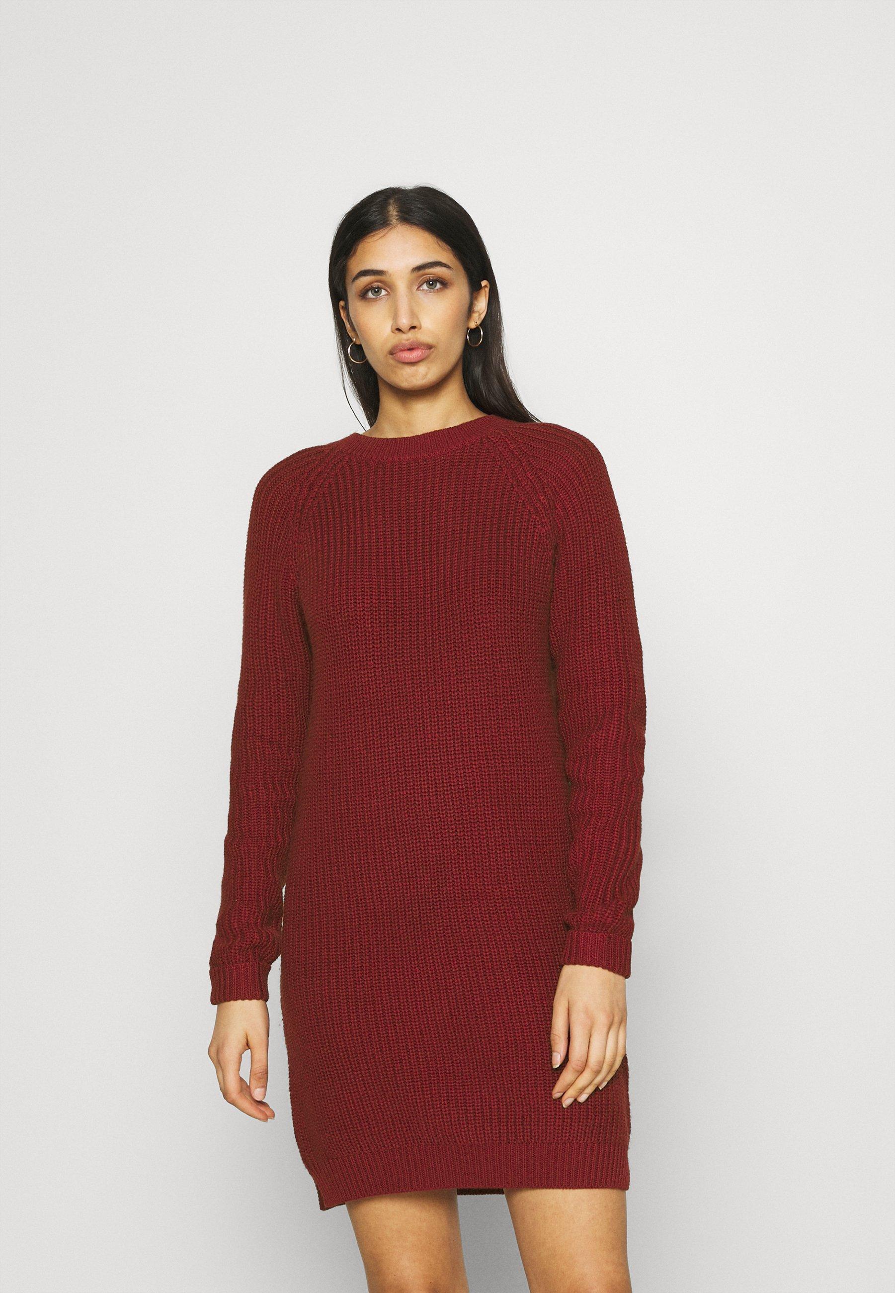 Mujer NMSIESTA O NECK DRESS - Vestido de punto