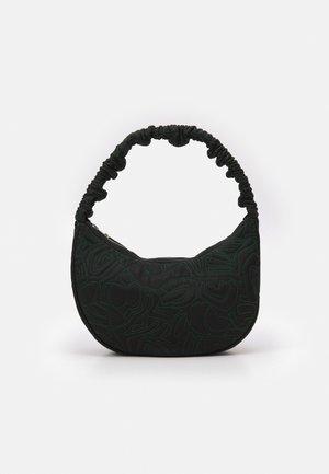 MOON PAPERCUT - Kabelka - black