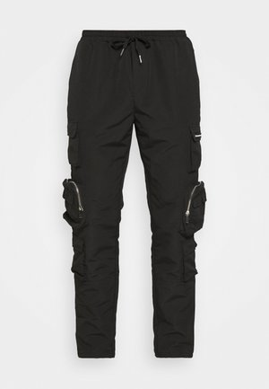 MENNACE UTILITY TROUSER - Pantaloni cargo - black