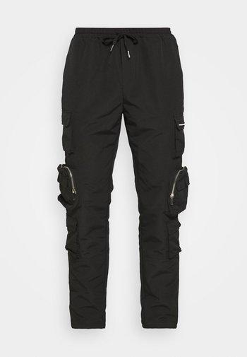 MENNACE UTILITY TROUSER - Cargo trousers - black