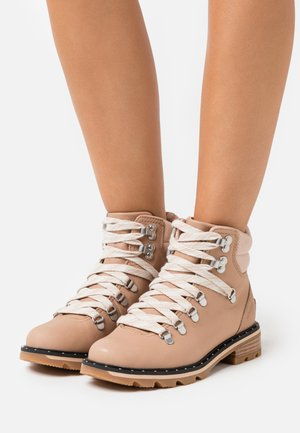 LENNOX HIKER - Lace-up ankle boots - beige