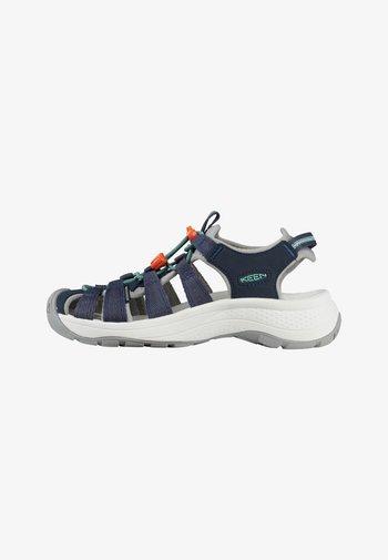 Walking sandals - navy/beveled glass