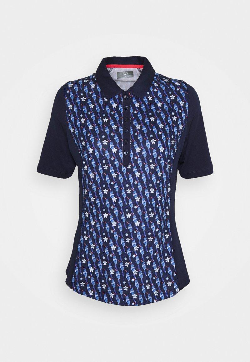 Callaway - HUMMINGBIRD - Polo shirt - peacoat