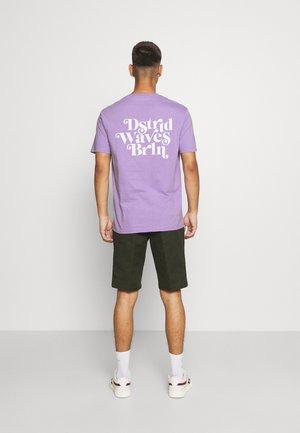 UNISEX - T-shirt imprimé - purple