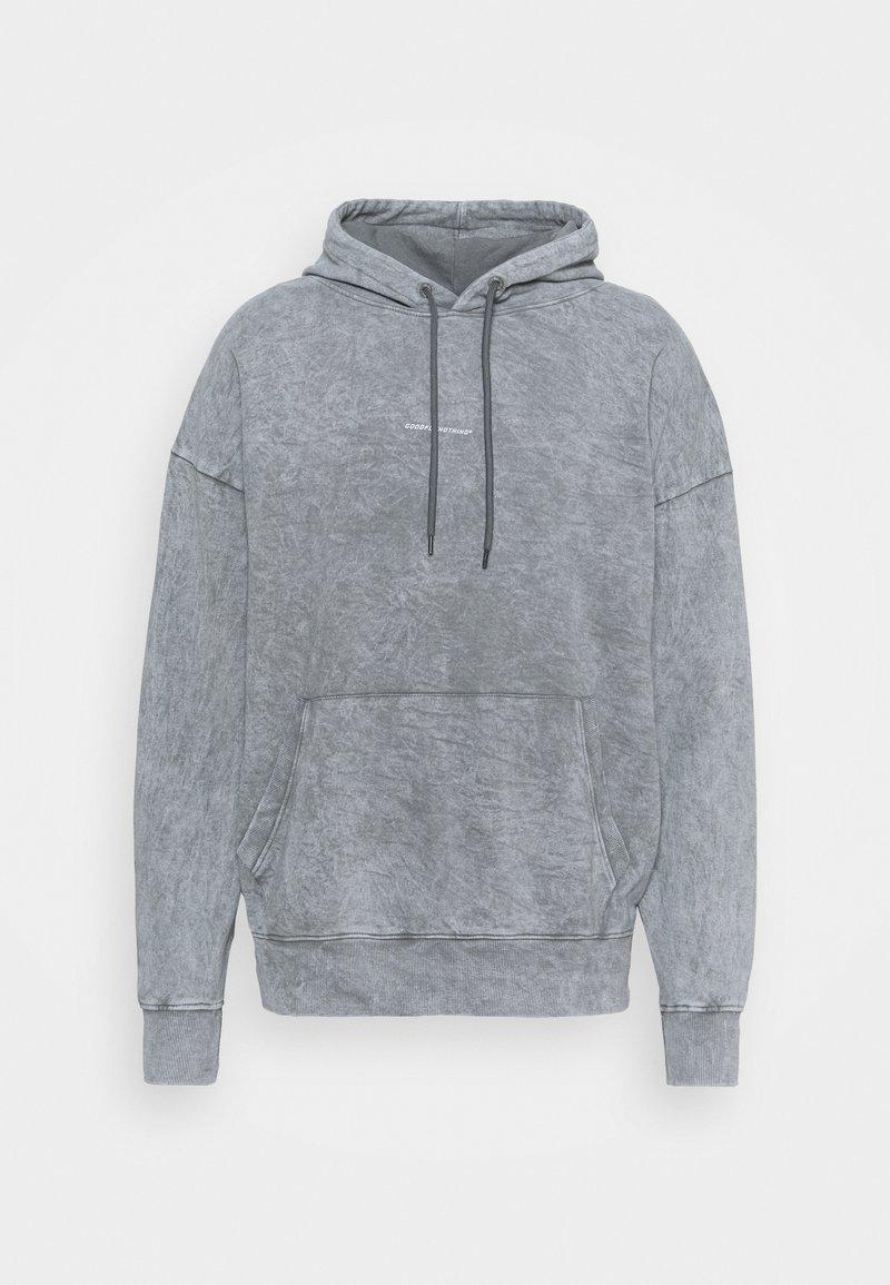 Good For Nothing - OVERSIZED BRANDED BACK HOOD - Hoodie - grey