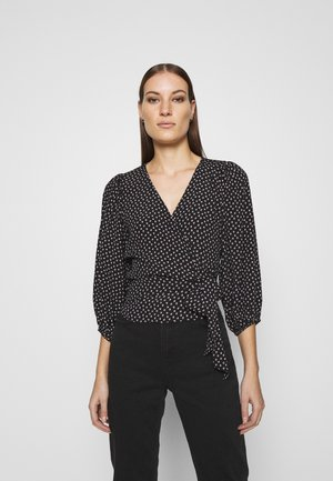 CHASE BLOUSE - Bluzka - black