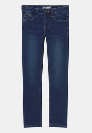NKMTHEO DNMTIMES - Jeans Skinny Fit - dark blue denim