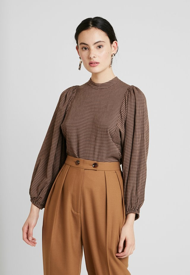 HARRIET BLOUSE - Bluser - argan