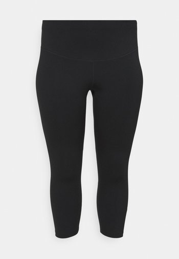 ONE PLUS - Leggings - black/white