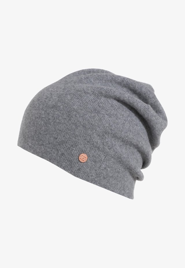 BEANIE - Mössa - grey melange