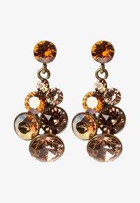 Konplott - PETIT GLAMOUR - Boucles d'oreilles - brown antique - 1