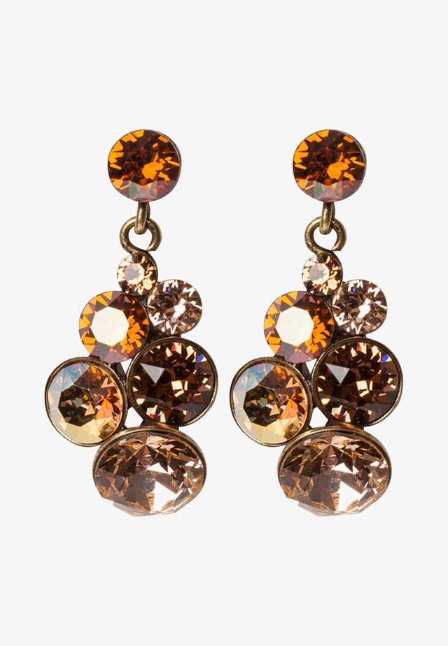 PETIT GLAMOUR - Earrings - brown antique